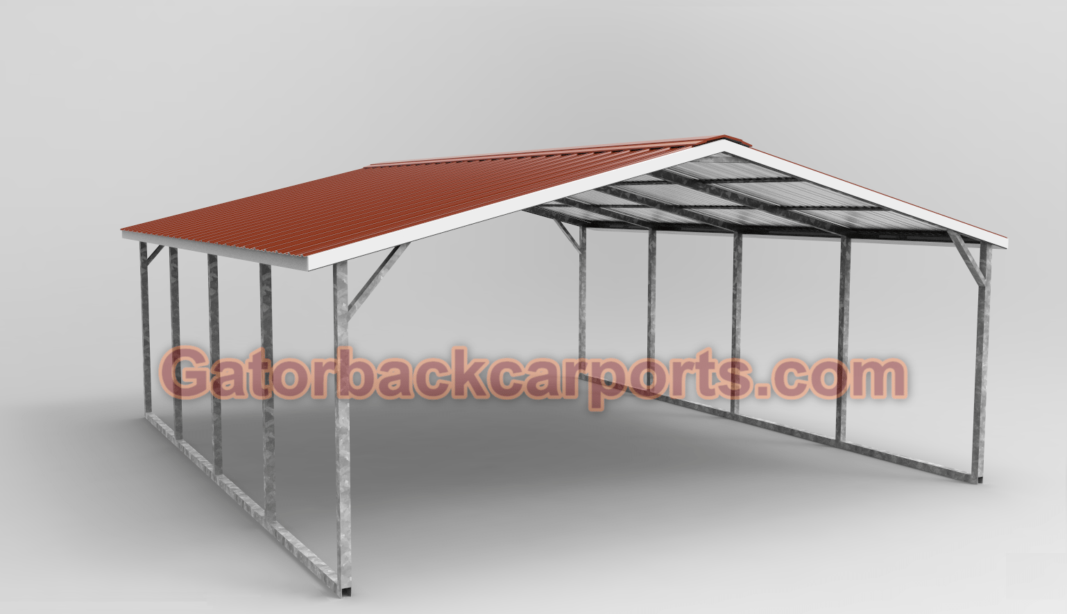 Vertical Roof Metal Carport : The difference between horizontal roof and vertical