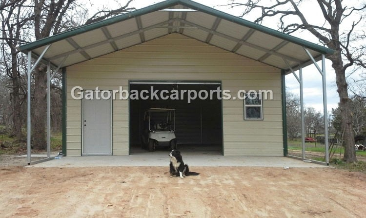 Combo units carports with storage gatorback carports for Garages and carports