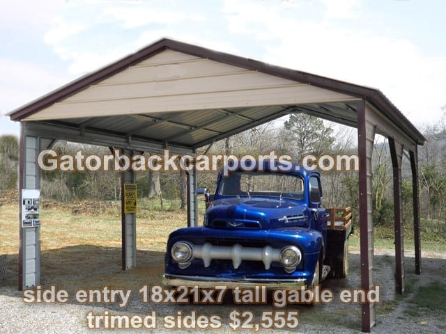 Metal carports lafayette la lafayette louisiana carports for Metal homes louisiana