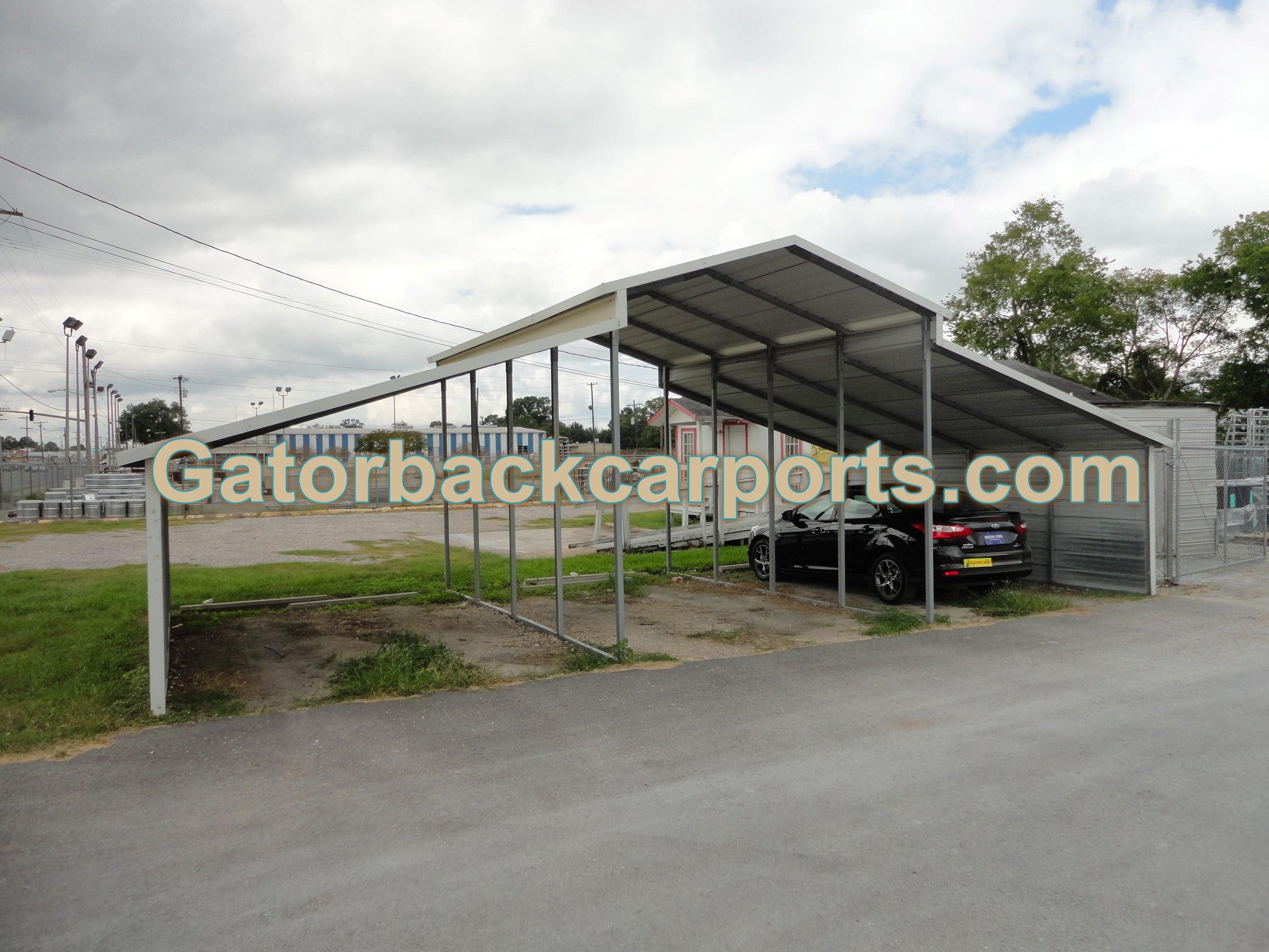 Lean to carport design pictures gatorback carports for Lean to carport designs