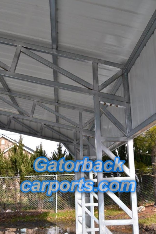 Commercial Steel Carports : Metal carports houston tx texas