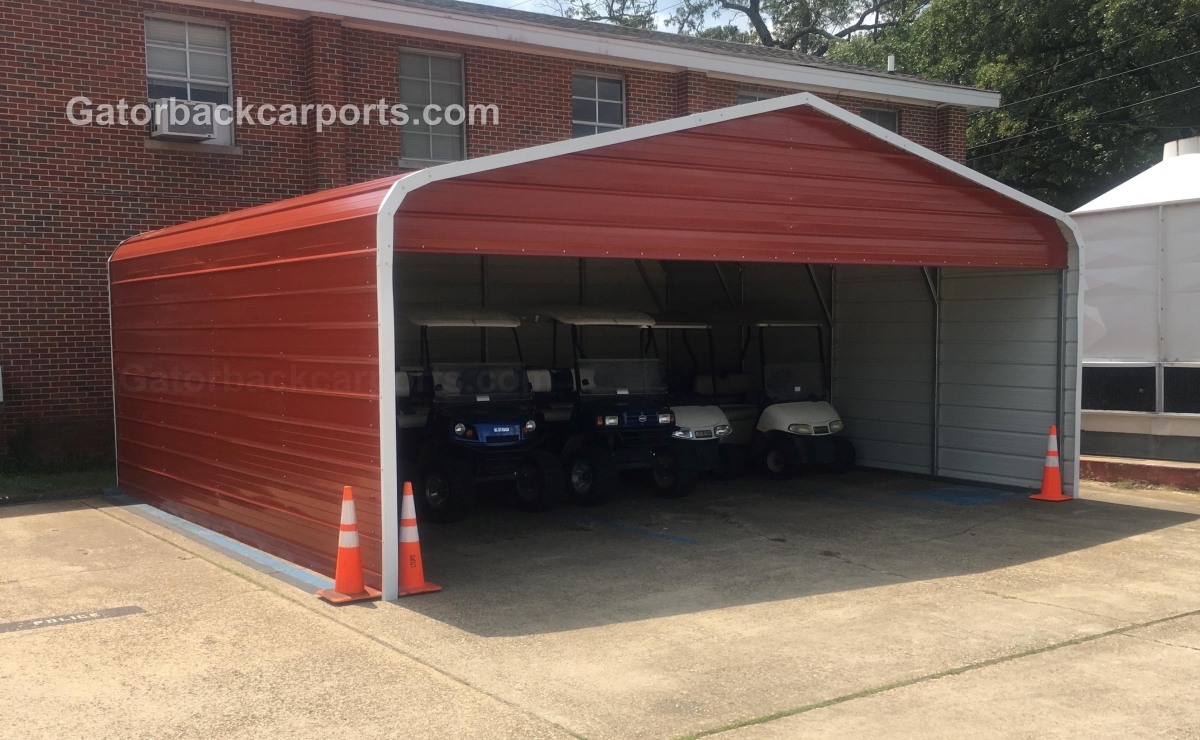 Carport gallery gatorback carports for Carports with sides