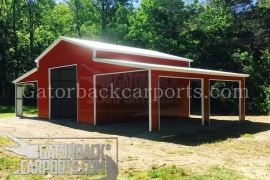 Barn with Lean to V103