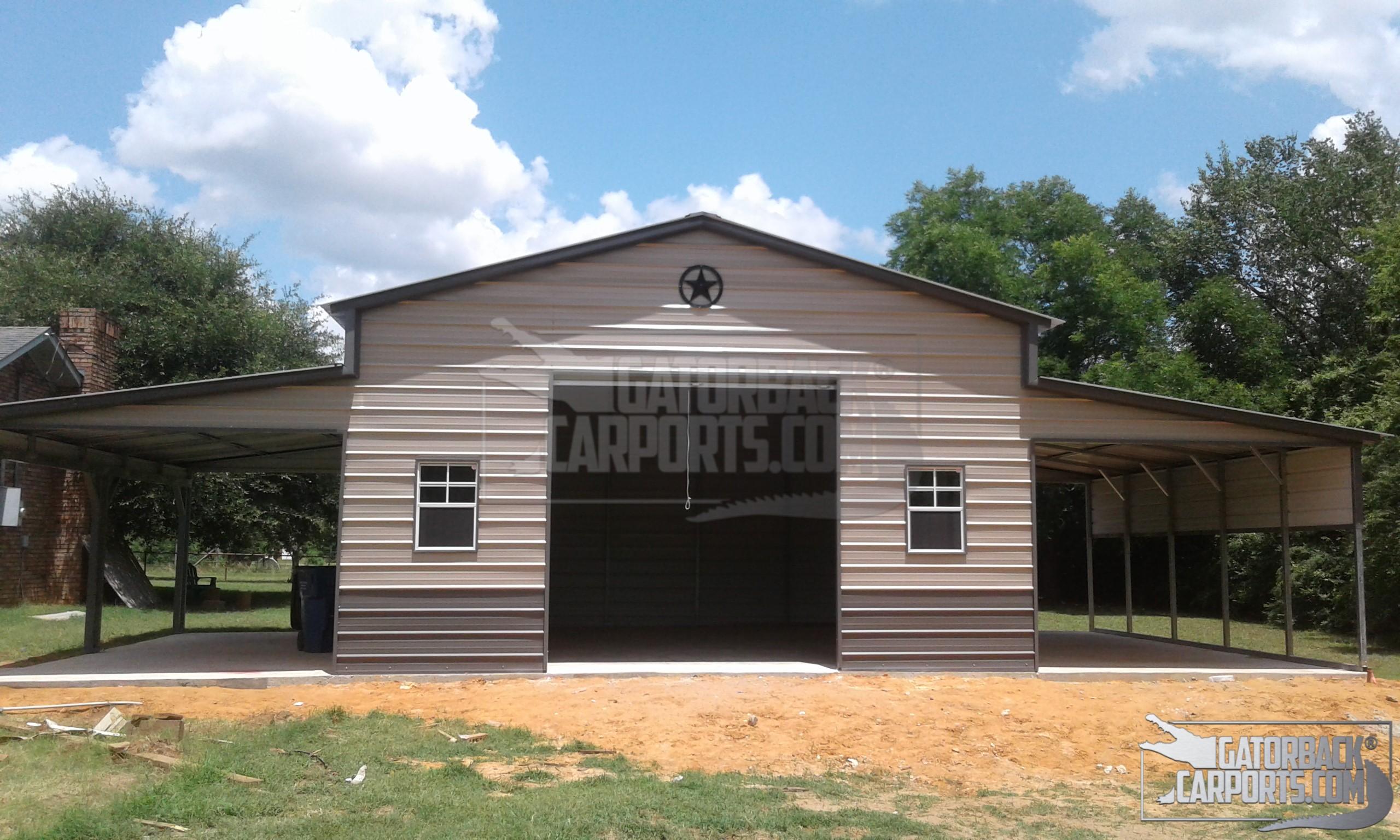 Garages Gallery - Gatorback CarPorts