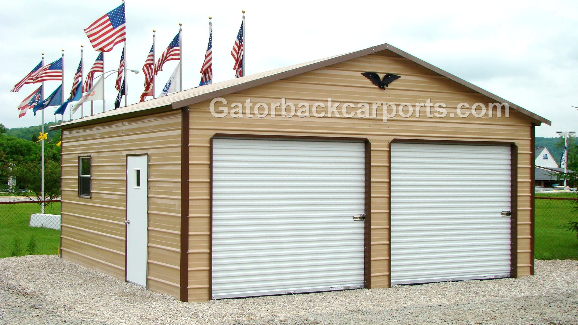 Colors gatorback carports for Garage car port