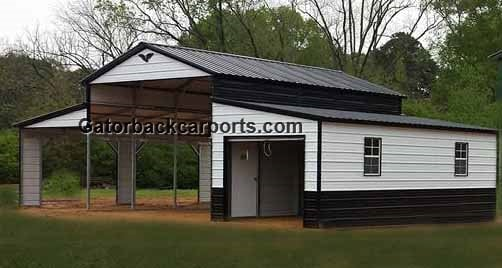 Pole Barns - Gatorback CarPorts