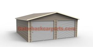 Box eve garage 2 doors 3.4 view