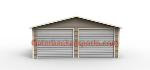 Boxed eve Garage front 2 doors