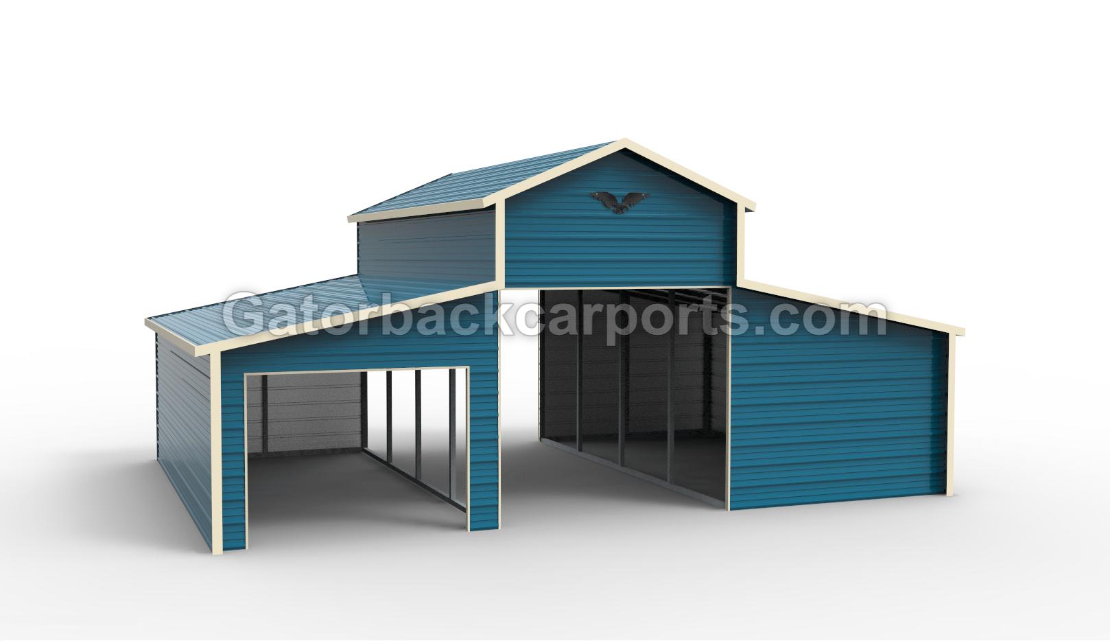 Horse Barn Blue