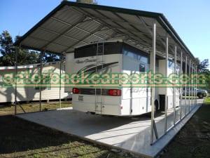 24x40 Vertical Carport