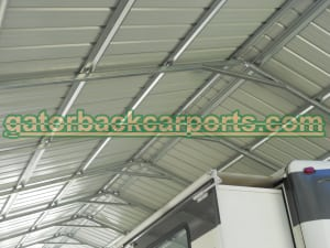 vertical Roof Carport System