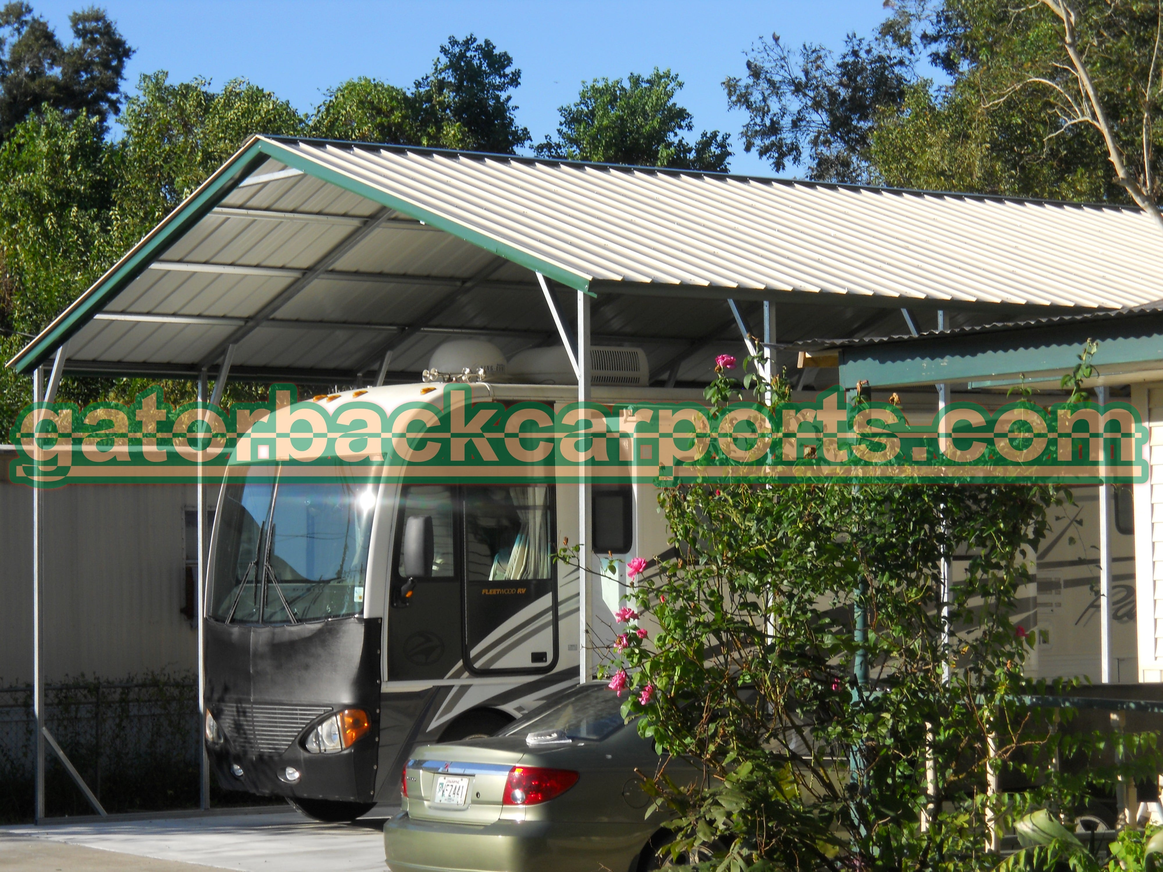 vertical roof Carport system & RV Carports RV Covers RV Garages - Gatorback CarPorts