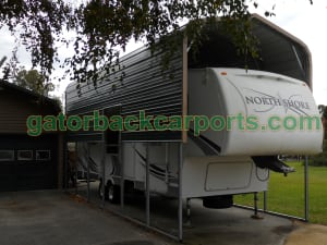 12' Wide RV Carport