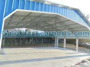 Open Span Truss Commercial Grade Building