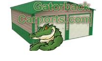 gatorbackcarports.com green garage