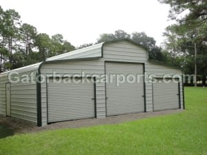 reg white green barn 3 roll doors wtmk