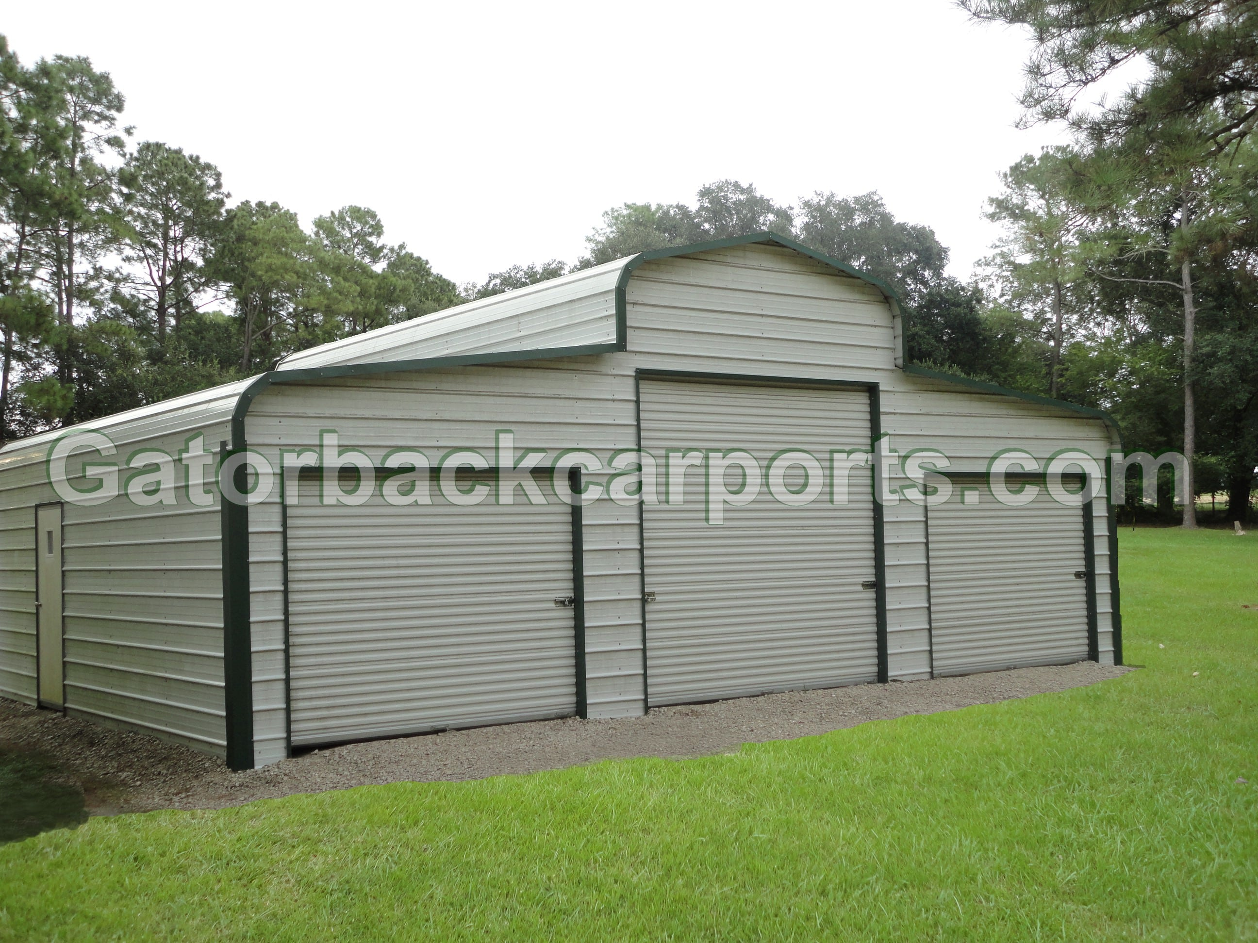 Lean to carports lean to garages gatorback carports for 14 wide garage door