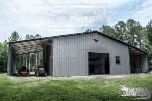 work shop, 60 wide, clear span, commercial building