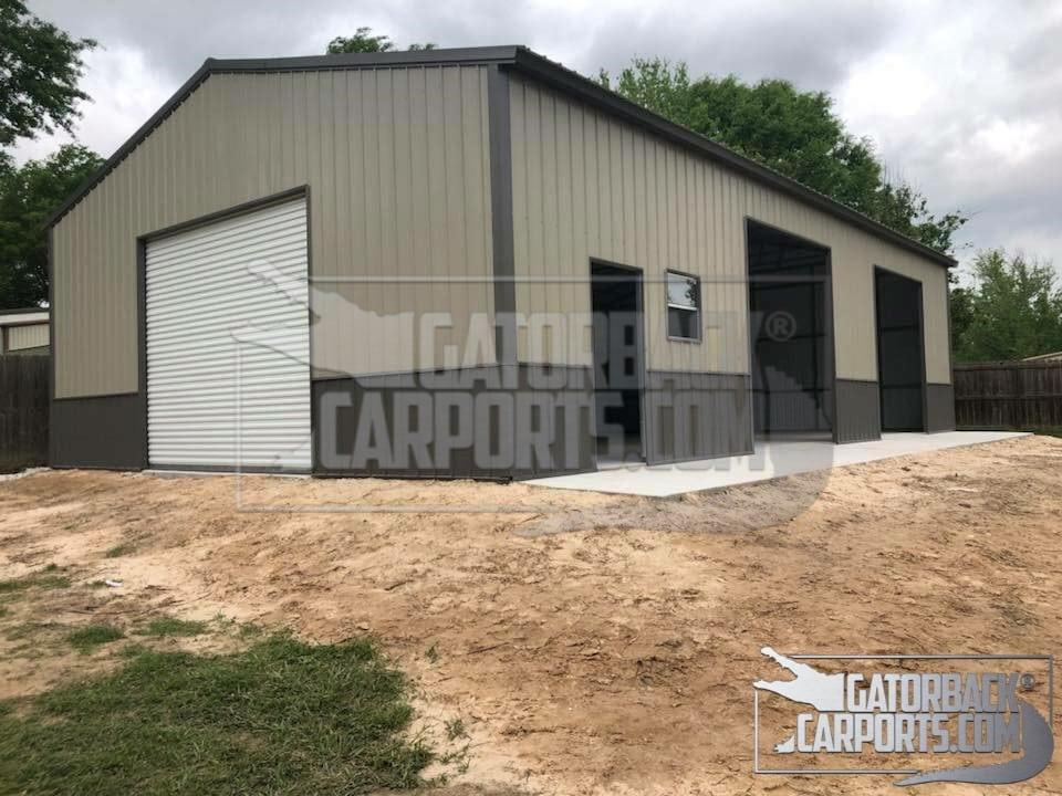 Commercial Metal Buildings Gatorback Carports