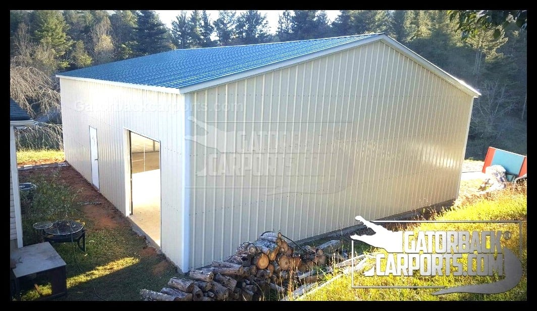commercial metal building 50 x 60