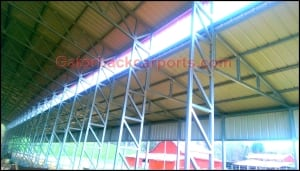 60 x100 Clear Span Commercial Building with Truss System