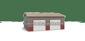 Box Eve Side Entry Garage 20x21x9 2 8x7