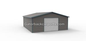 Boxed Eve Garage one door
