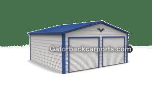 Vrroof 2 door garage.353