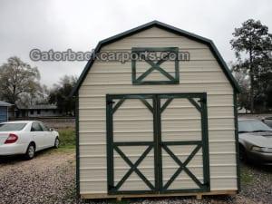 Metal Lofted Barn