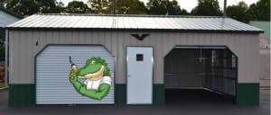 45 degree trim kit side entry garage