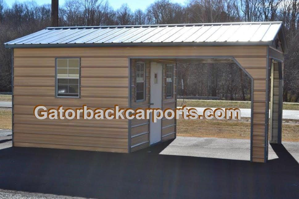 Affordable Utility Buildings Sheds Gatorback Carports