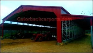 Tractor Sheds, farm buildings