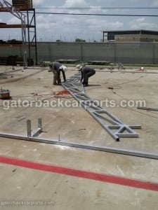 Clear Span Commercial Building Truss System