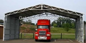 Montgomery alabama metal carports al garages rv for Clear span garages