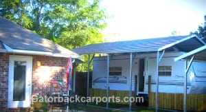 18'x26'x9' Boxed Eve Carport on sale $1,270.00