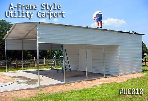 Combo Units Carports With Storage Gatorback Carports