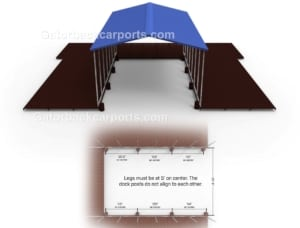 carport design for metal boat carport over deck