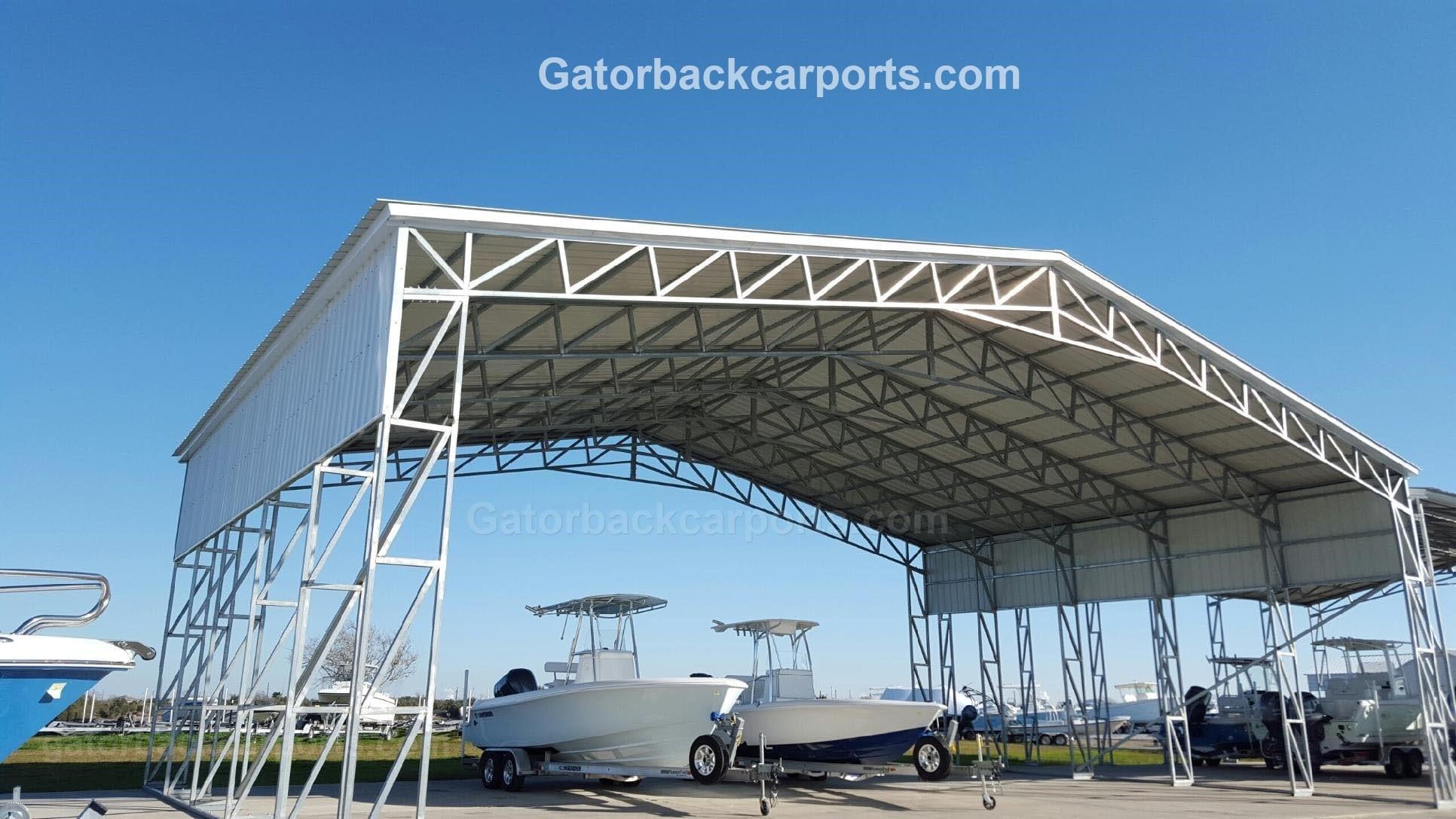 Metal Boat Carport Offer Extreme Protection Gatorback