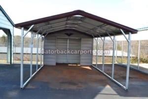 V Roof Metal Combo Units Gatorback Carports
