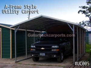Utility Carport Metal Building 5